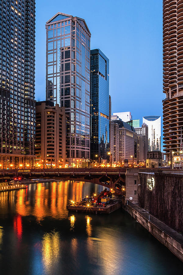Chicago Morning by Douglas Tate