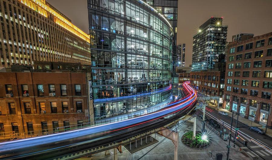 Chicago Nights by Will Moneymaker