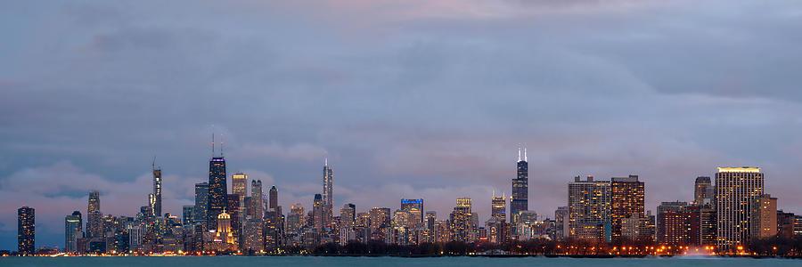 Chicago Northside Panorama by Matt Hammerstein