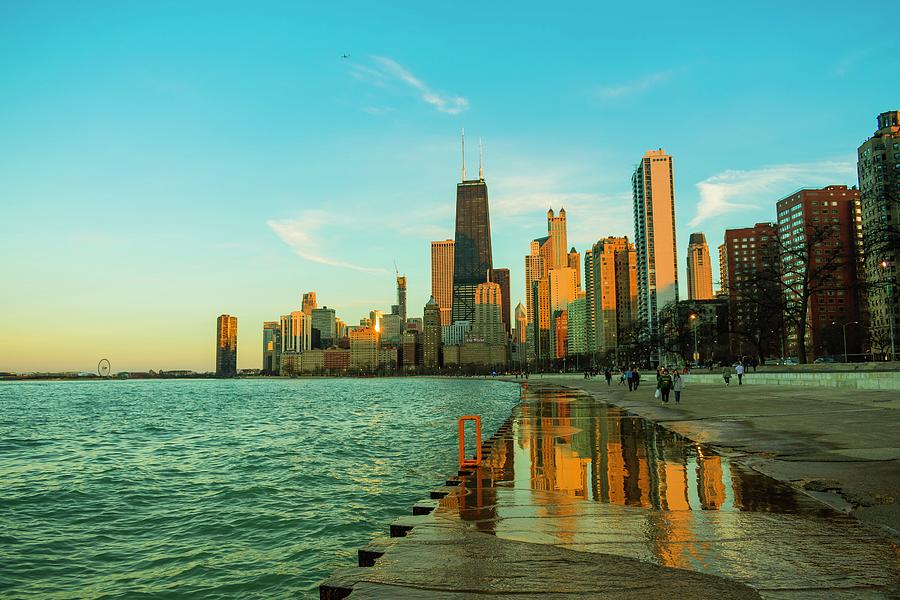 Chicago Reflections by Bobby King