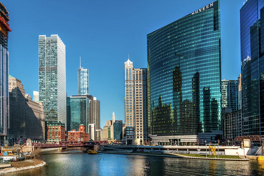 Chicago Reflections by Douglas Tate