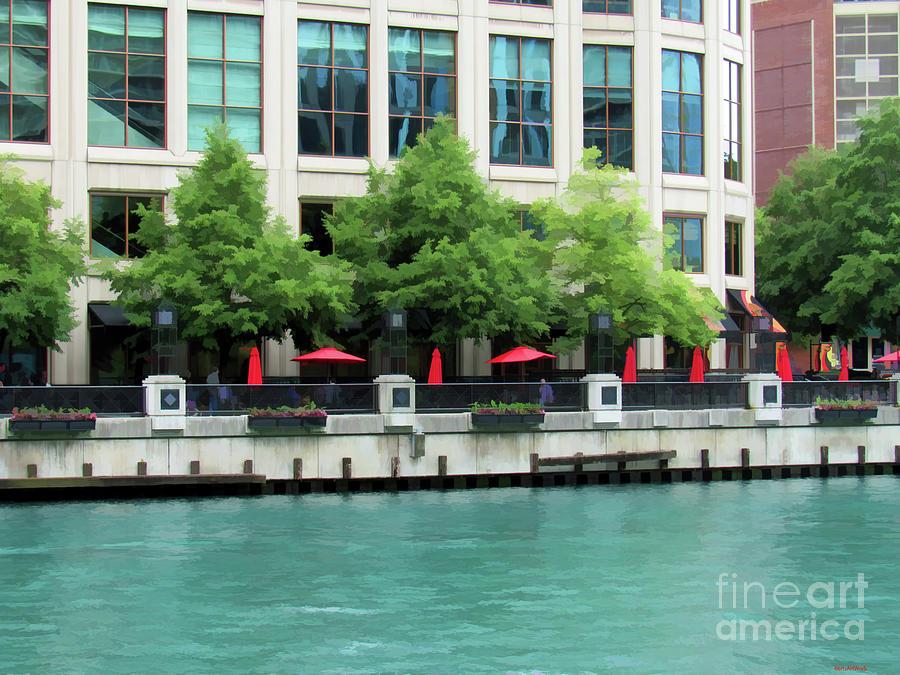 Chicago Riverwalk One by Roberta Byram