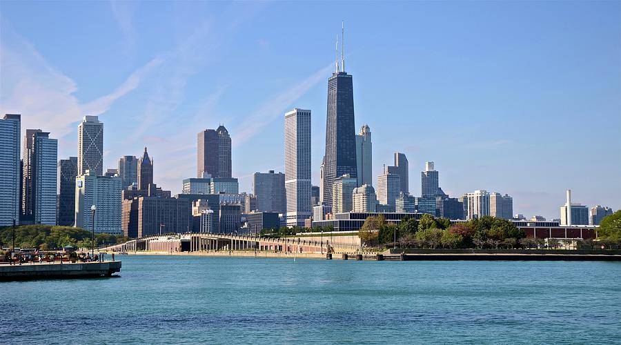 Chicago Skyline by Corinne Rhode