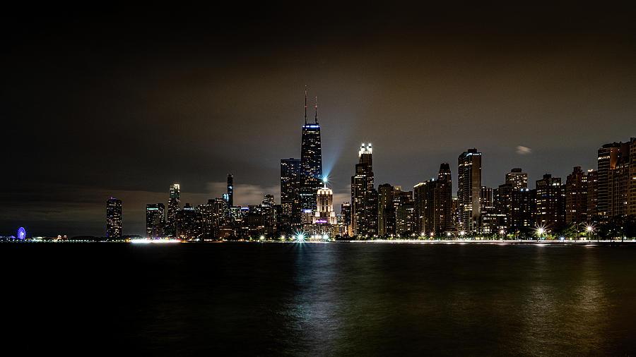 Chicago Skyline by Randy Scherkenbach