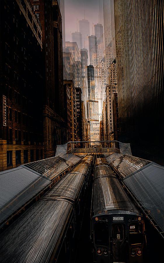 Chicago Photograph - Chicago Station 2 by Carmine Chiriacò