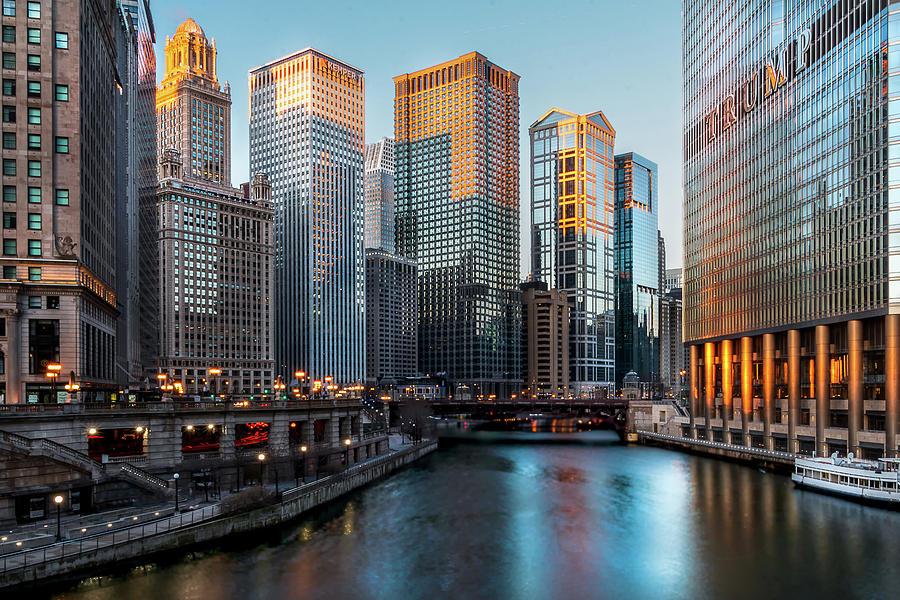 Chicago Sunrise by Douglas Tate