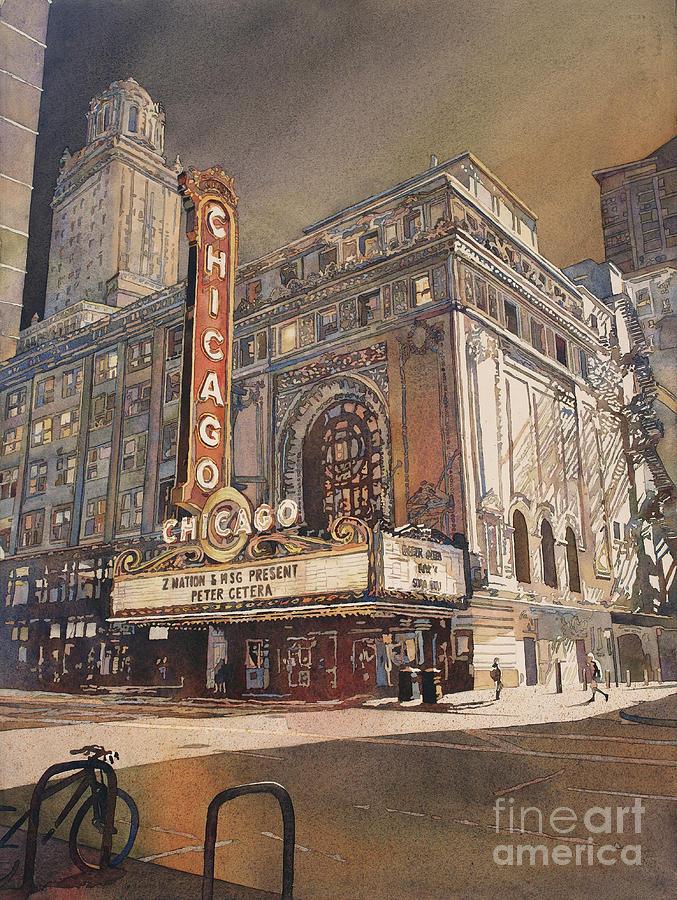 Chicago Theatre- Illinois by Ryan Fox
