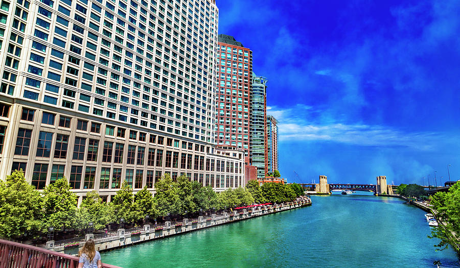 Chicago Tranquil Brilliance Photograph