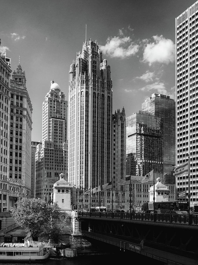 Chicago Tribune Tower Photograph