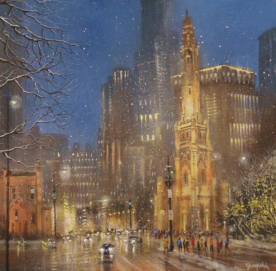 Chicago Water Tower by Tom Shropshire
