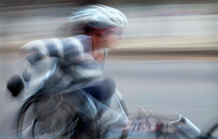 Chicago Wheelchair Marathon  by Paul Schreiber