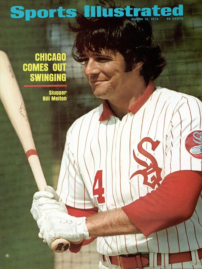 Chicago White Sox Bill Melton Sports Illustrated Cover Photograph by Sports Illustrated
