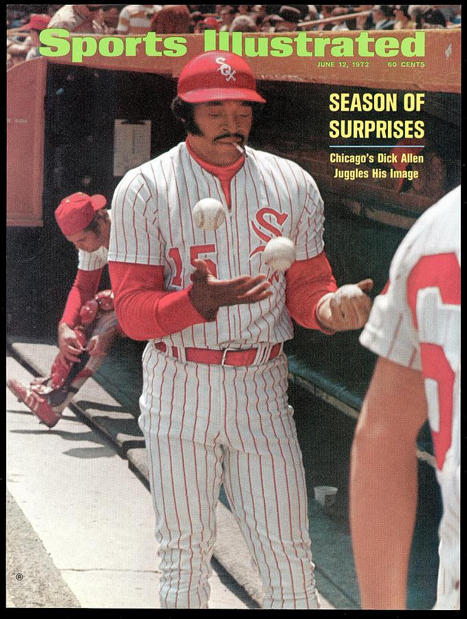 Chicago White Sox Dick Allen... Sports Illustrated Cover Photograph by Sports Illustrated