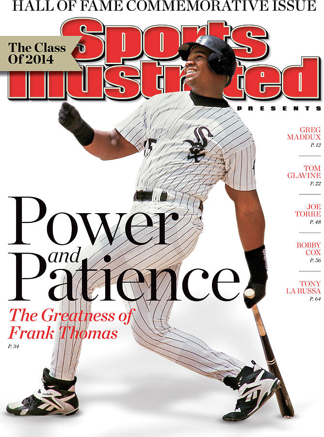 Chicago White Sox Frank Thomas, 2014 Hall Of Fame Sports Illustrated Cover Photograph by Sports Illustrated