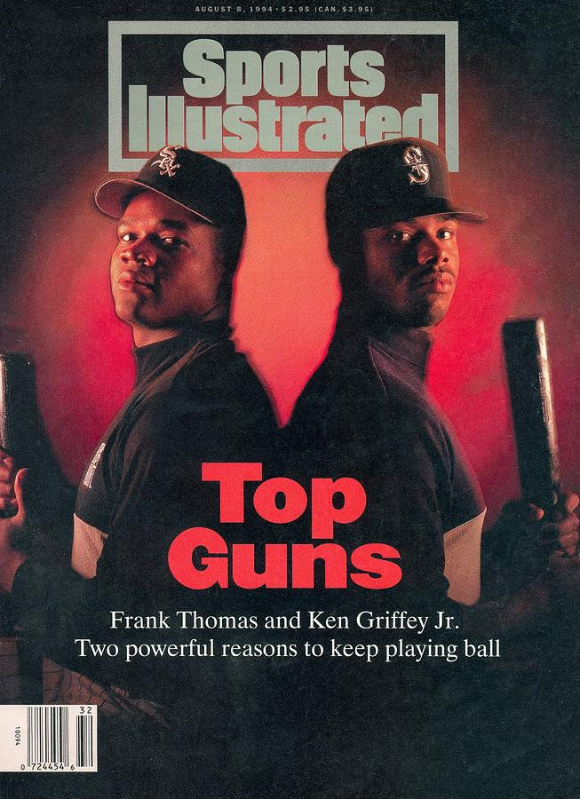 Chicago White Sox Frank Thomas And Seattle Mariners Ken Sports Illustrated Cover Photograph by Sports Illustrated