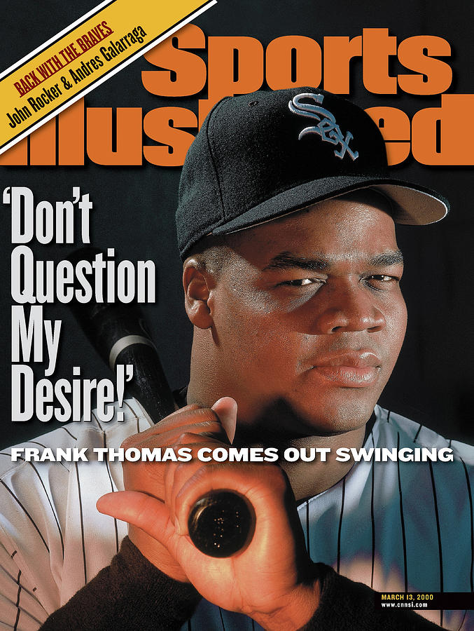 Chicago White Sox Frank Thomas Sports Illustrated Cover Photograph by Sports Illustrated