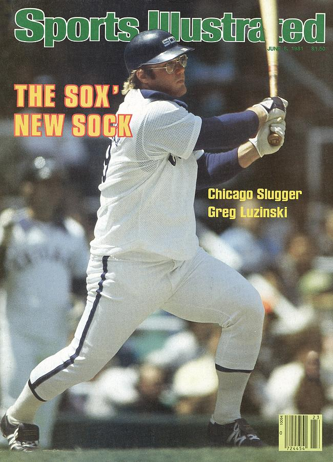 Chicago White Sox Greg Luzinski... Sports Illustrated Cover Photograph by Sports Illustrated