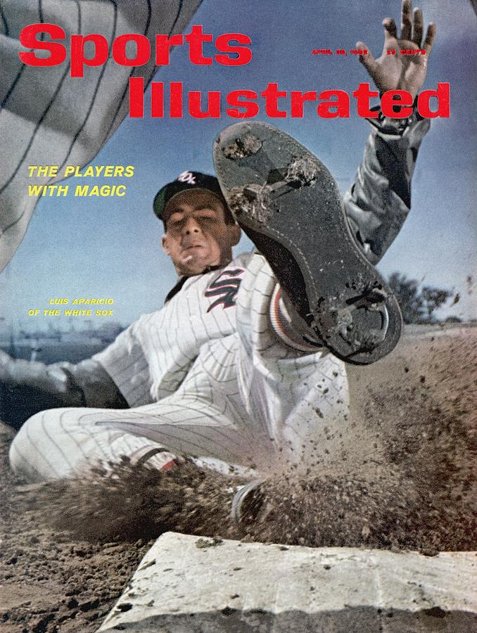 Chicago White Sox Luis Aparicio Sports Illustrated Cover Photograph by Sports Illustrated
