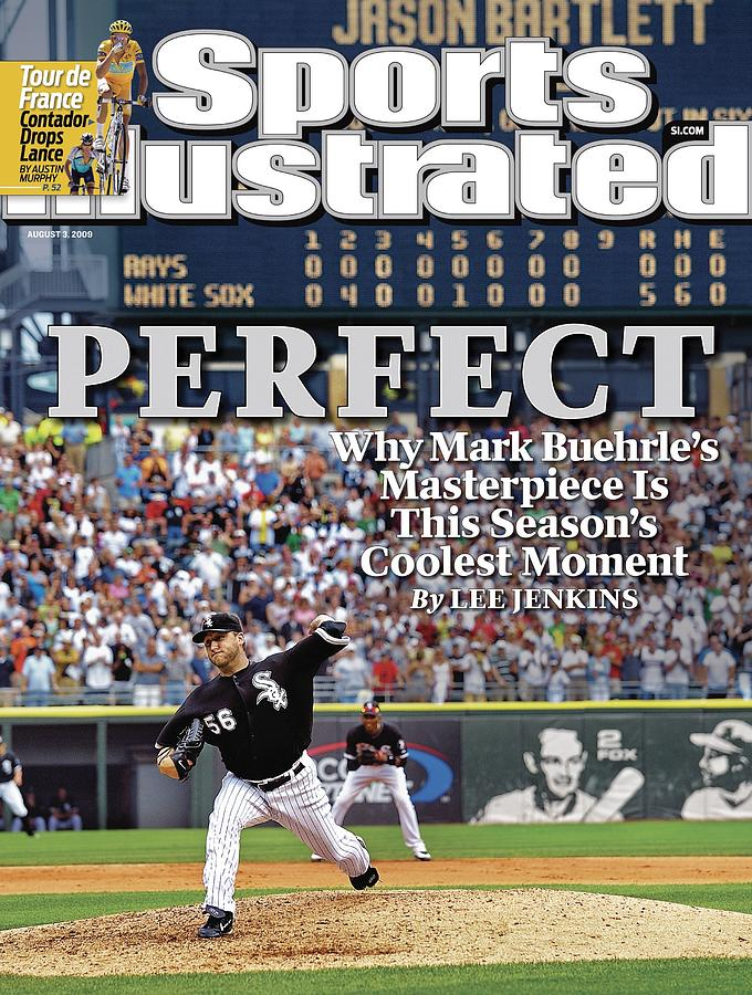 Chicago White Sox Mark Buehrle... Sports Illustrated Cover Photograph by Sports Illustrated