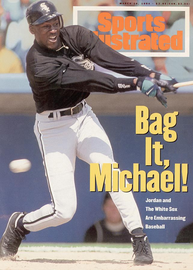 Chicago White Sox Michael Jordan... Sports Illustrated Cover Photograph by Sports Illustrated