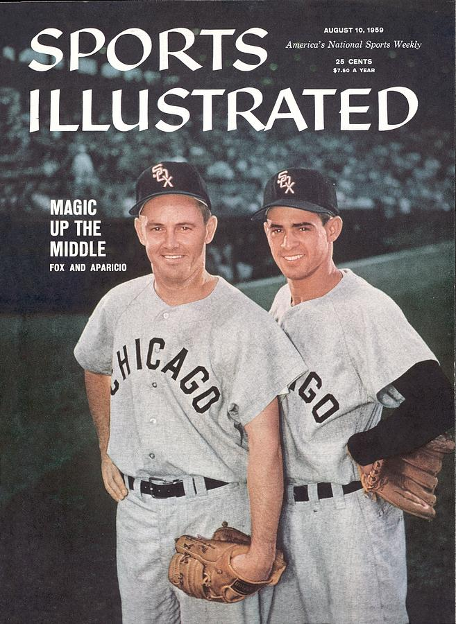 Chicago White Sox Nellie Fox And Luis Aparicio Sports Illustrated Cover Photograph by Sports Illustrated