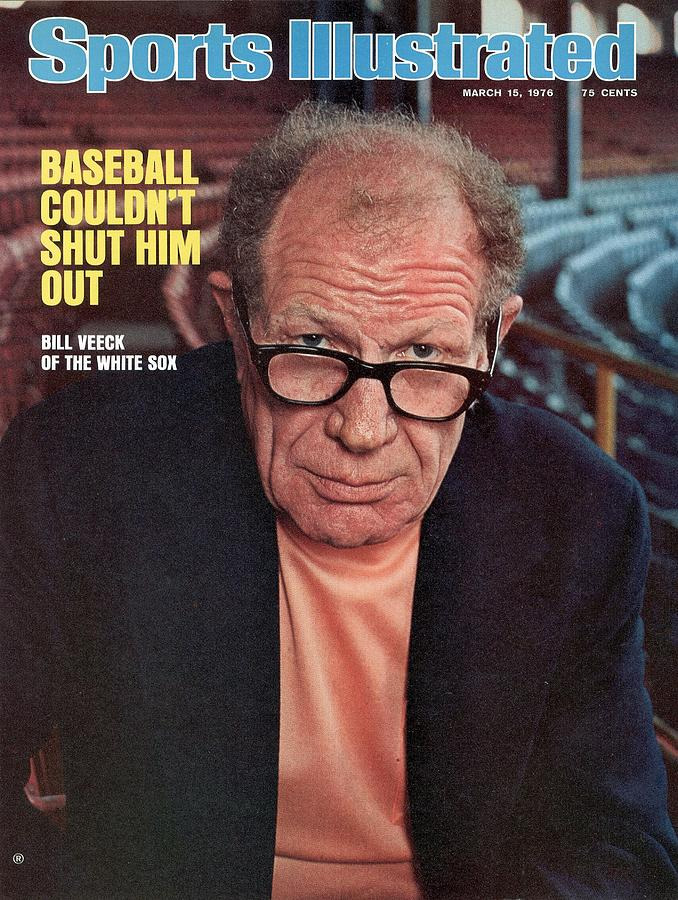 Chicago White Sox Owner Bill Veeck Sports Illustrated Cover Photograph by Sports Illustrated