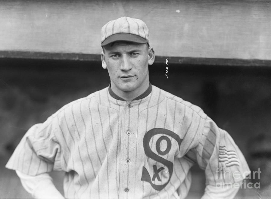 Chicago White Sox Player, Head Shoulder Photograph by Bettmann