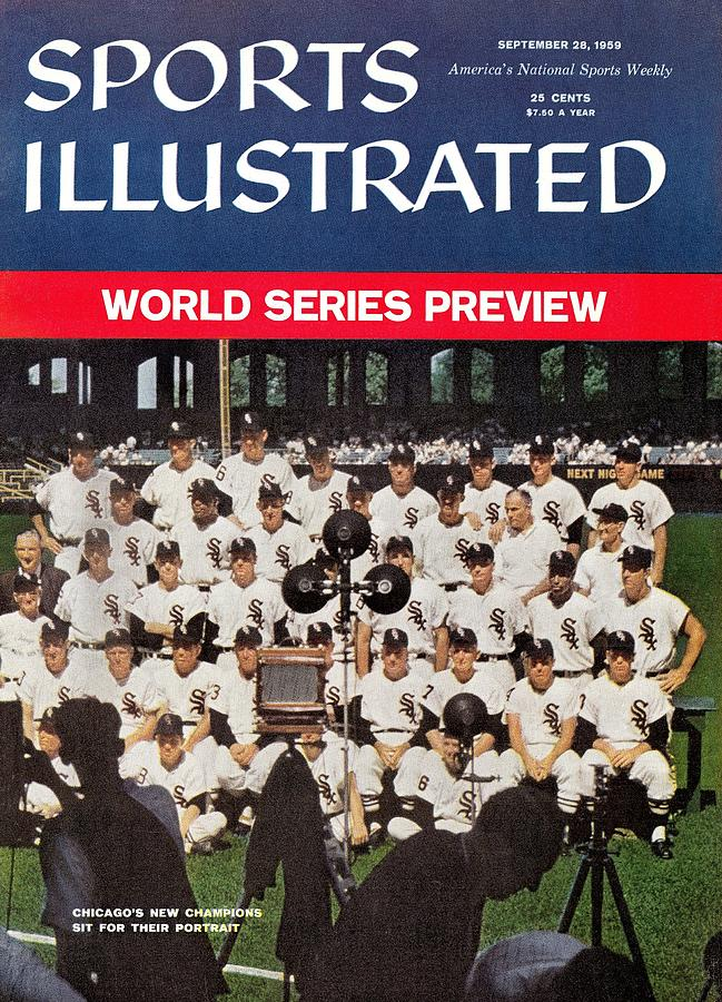 Chicago White Sox Sports Illustrated Cover Photograph by Sports Illustrated