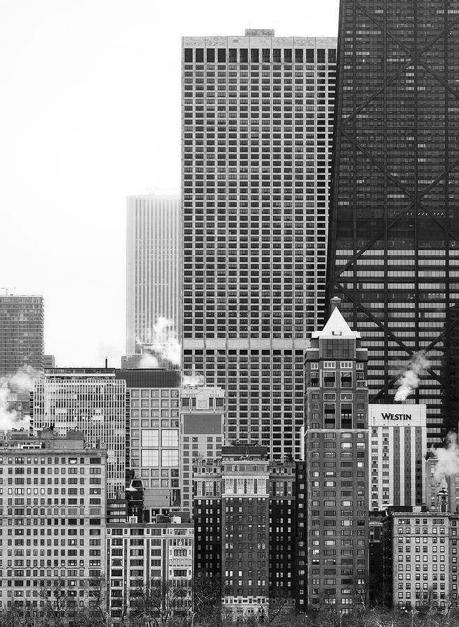 Chicago Winter Facades by Matt Hammerstein