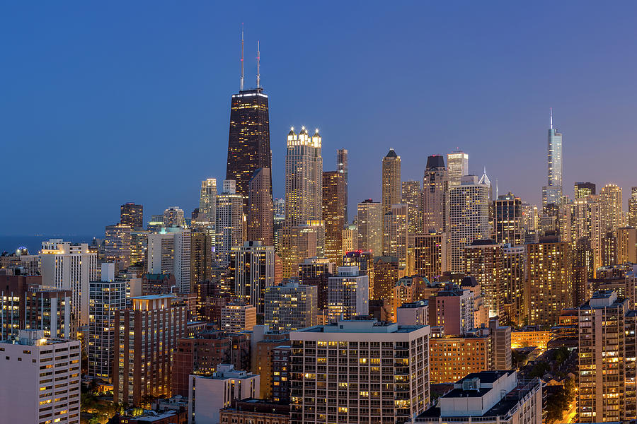 Chicago's Streeterville at Dusk by Adam Romanowicz
