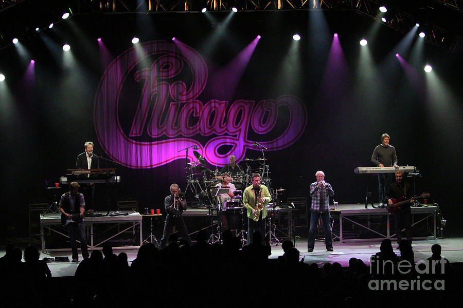 Chicago Photograph - Chicago The Band by Concert Photos