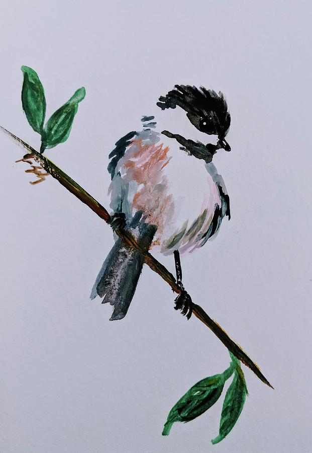 Chickadee 1 by Jeannine Selig