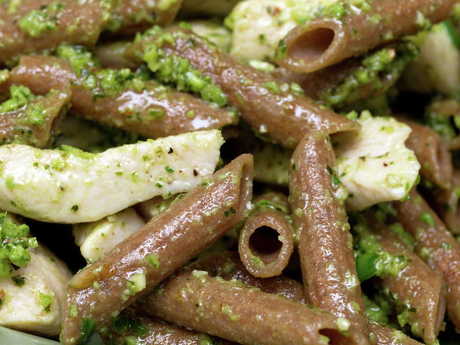 Chicken And Pasta Pesto Photograph by Photography By Paula Thomas