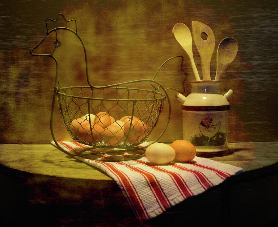 Chicken Eggs by Pamela Walton