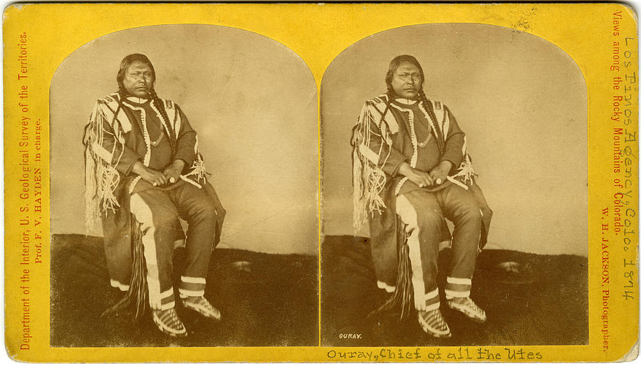 Chief Ouray, Native American Chief Photograph by The New York Historical Society