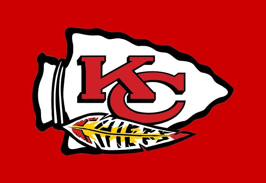 Chiefs Fan Logo 1 by David Luebbert
