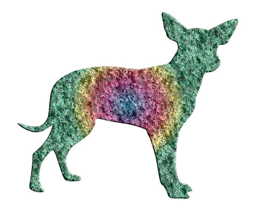 Chihuahua - Digital Art by Ericamaxine Price