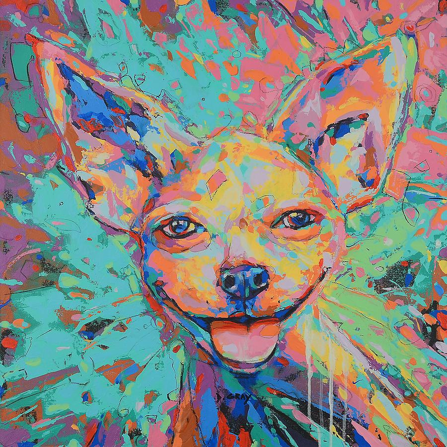Chihuahua in Color by Damon Gray