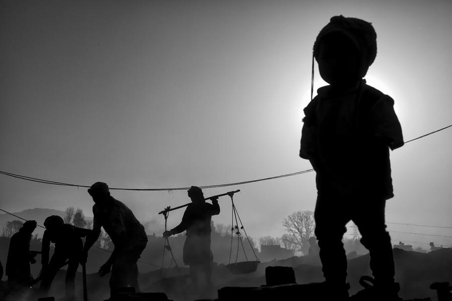Nepal Photograph - Child Labour Is Just Not Fair by Yvette Depaepe