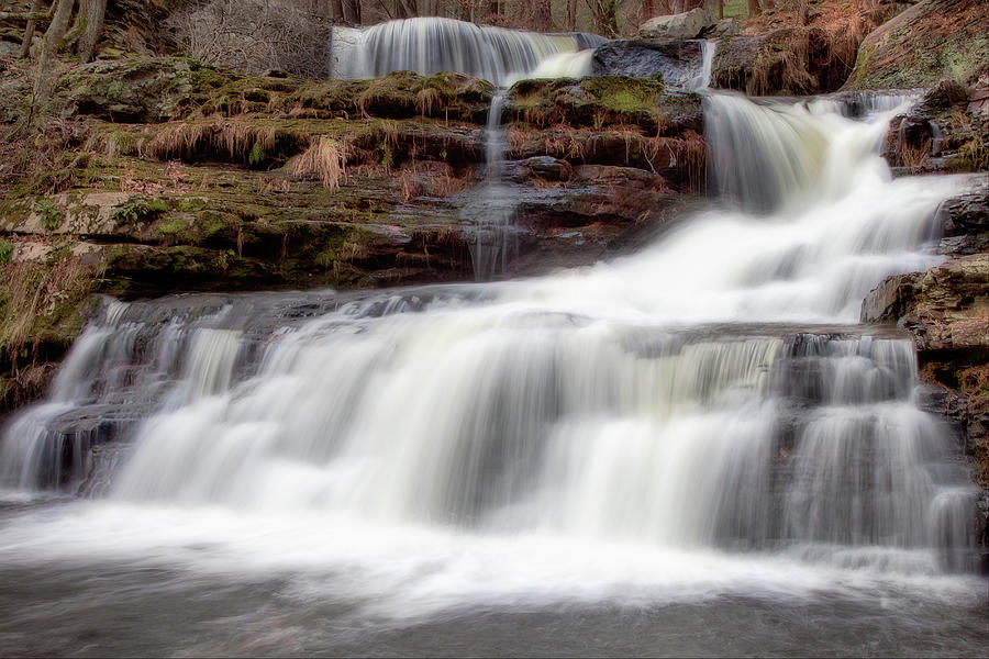 Childs Park Waterfall Photograph by Michael Orso