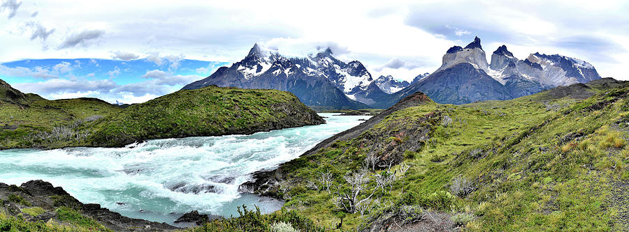 Chile - Cerro Paine and Torres del Paine Mountains by Jeremy Hall