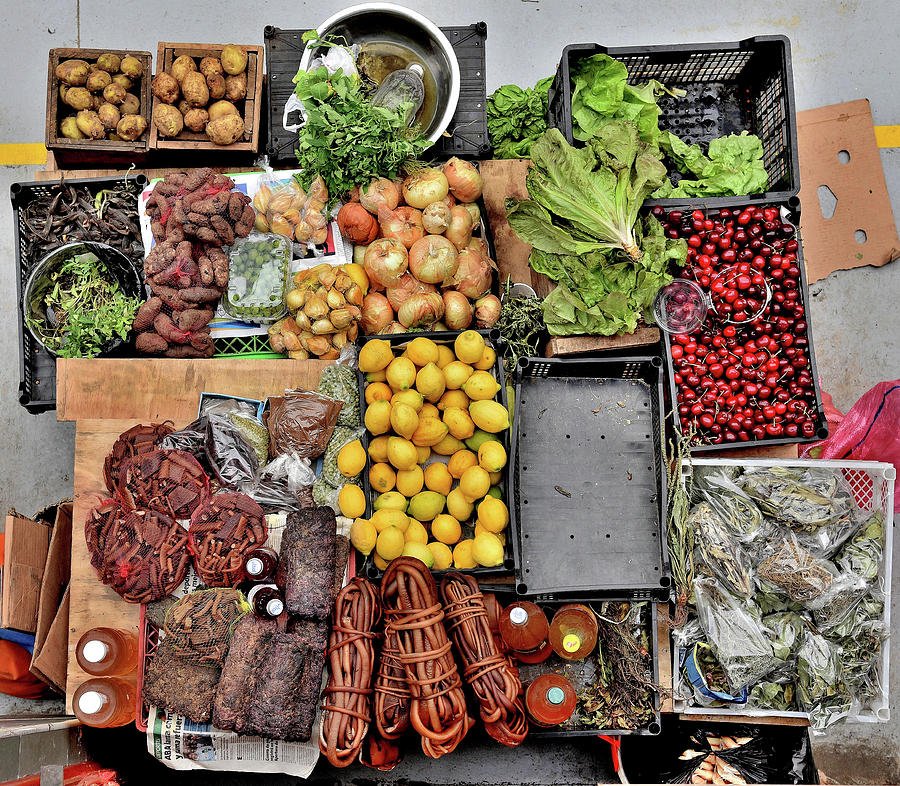Chile - Food Market 2 - Castro Town - Chileo Island by Jeremy Hall