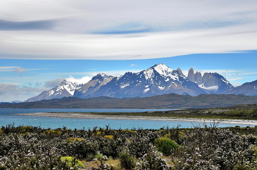 Chile - Lake Sarmiento and Torres del Paine Mountains - Patagonia by Jeremy Hall