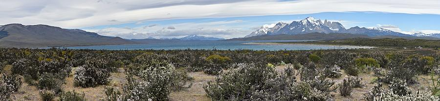 Chile - Patagonia - Lake Sarmiento and Torres del Paine Mountains by Jeremy Hall