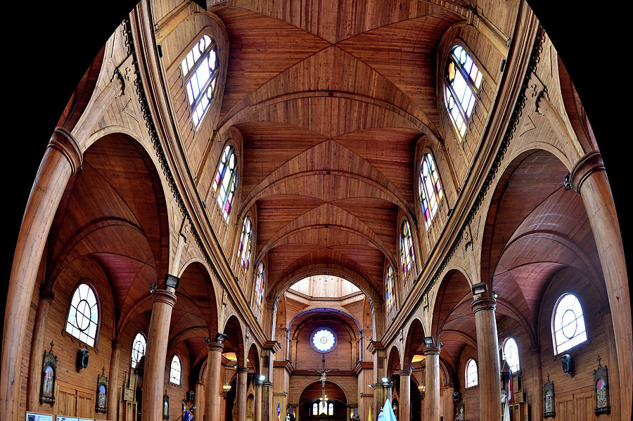 Chile - St. Francis Church - Castro - Chileo Island - View 2 by Jeremy Hall