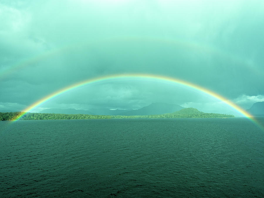 Chilean Fjord Rainbow by Gary Karlsen