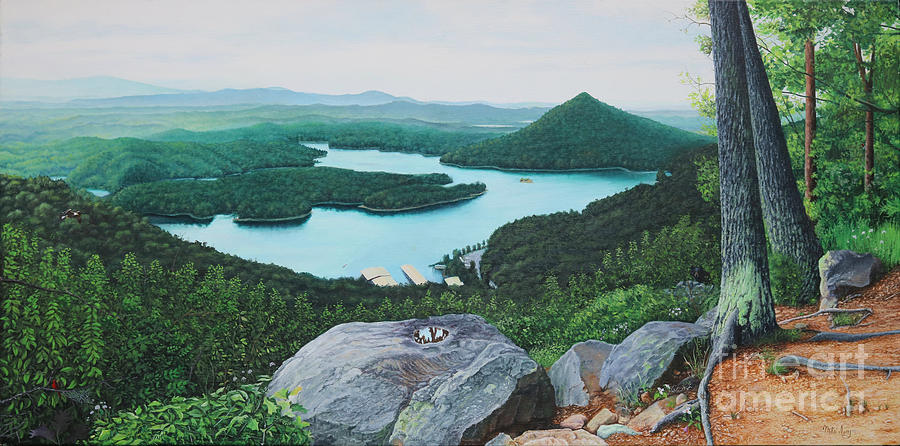 Chilhowee Overlook by Mike Ivey