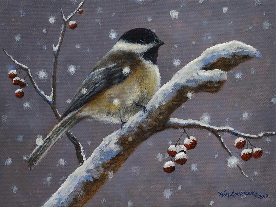 Chillin Chickadee by Kim Lockman