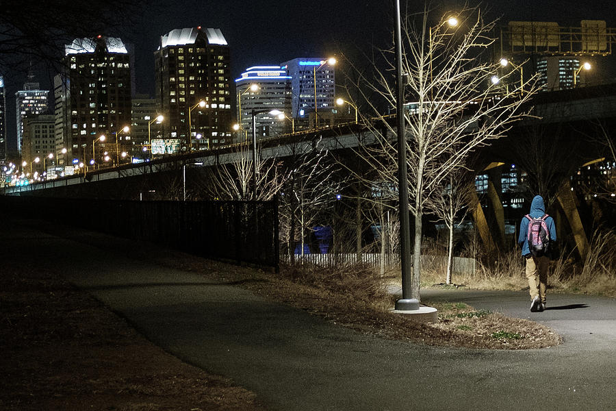 Chilly Walk Outside the City by Doug Ash