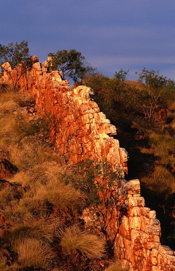 China Wall, Halls Creek, Kimberley Photograph by Oliver Strewe